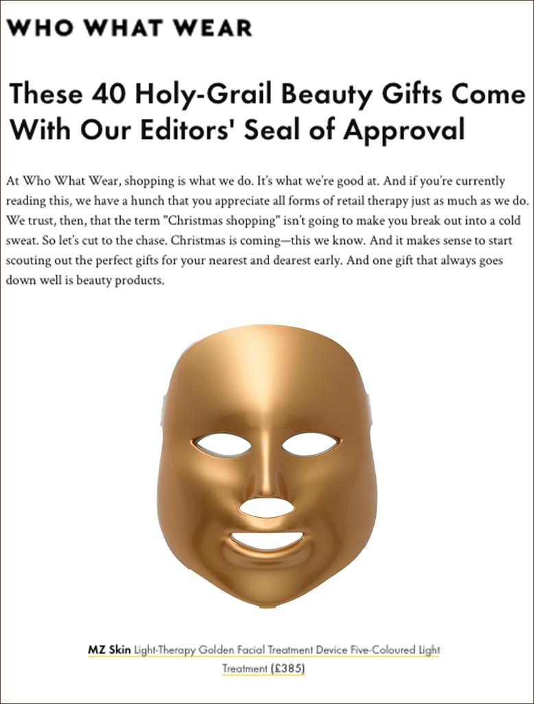 Press Who WHat Wear